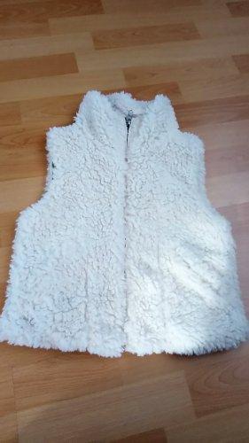 Anna Dello Russo for H&M Fur vest white polyester
