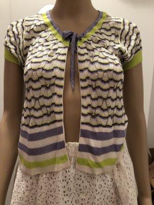 Mango Casual Sportswear Chaleco de punto multicolor