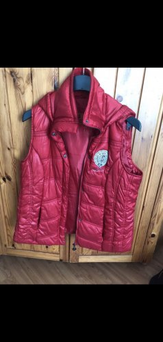 Authentic Down Vest red