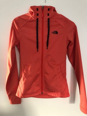 The North Face Chaleco deportivo naranja neón