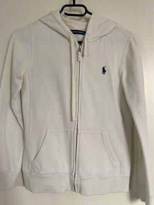 Ralph Lauren Sport Hooded Vest natural white