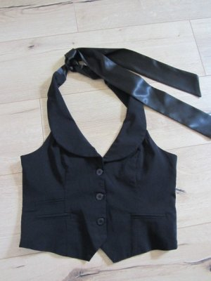 Blind Date Chaleco de vestir negro