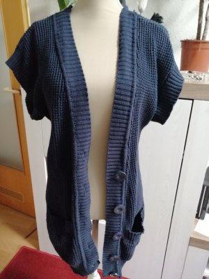 Arizona Knitted Vest dark blue