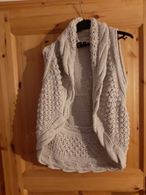 Hoxton Chic Knitted Vest oatmeal