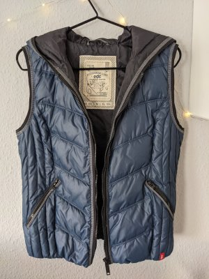edc by Esprit Hooded Vest multicolored