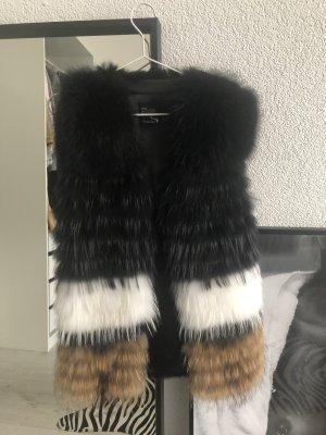 Welovefurs Fur vest multicolored