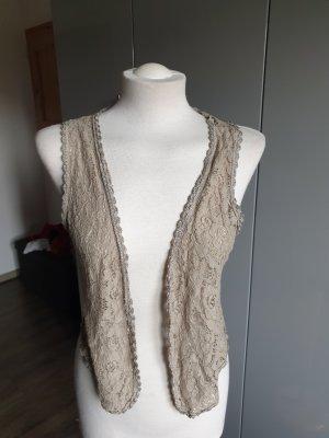 Knitted Vest beige