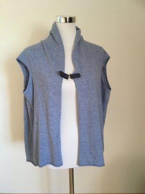 Esprit Gilet tricoté bleu azur
