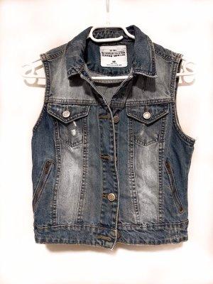 Smanicato jeans grigio ardesia