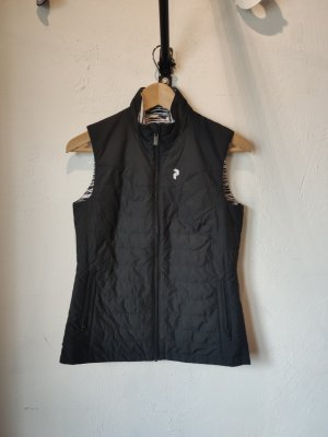 Peak performance Chaleco reversible negro