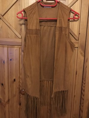 Aniston Fringed Vest multicolored