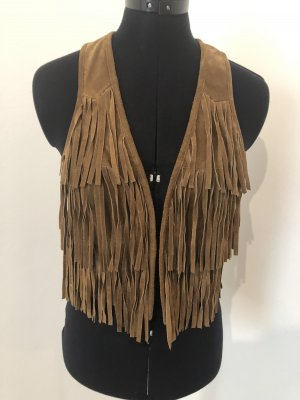 Fringed Vest multicolored