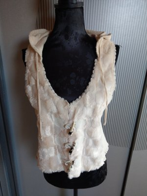 Tredy Knitted Vest beige