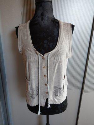 Yerse Knitted Vest beige