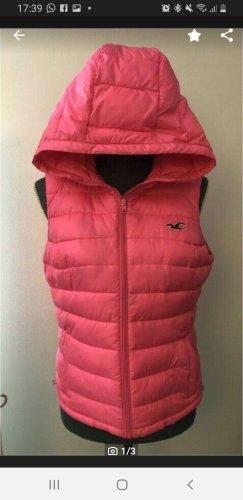 Hollister Smanicato con cappuccio rosa-rosa