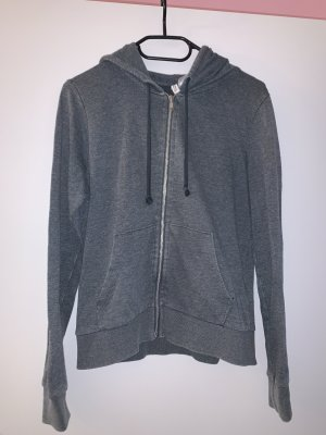 H&M Divided Hooded Vest green grey