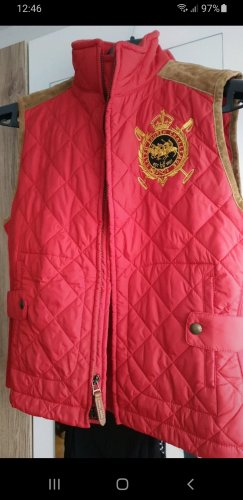 Lauren by Ralph Lauren Down Vest red