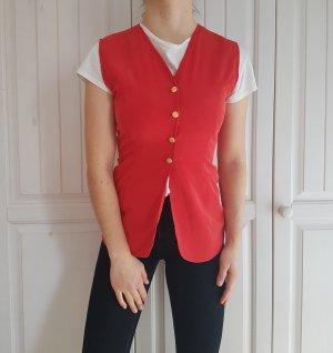 Weste cardigan rot jackete hemd bluse pulli pullover tshirt t-shirt jacket shirt true vintage