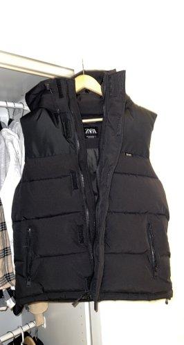 Zara Basic Gilet en duvet noir