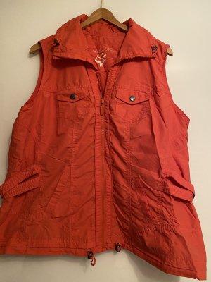 Classic Gewatteerd vest rood