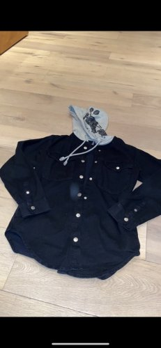 H&M Jeansowa kamizelka czarny