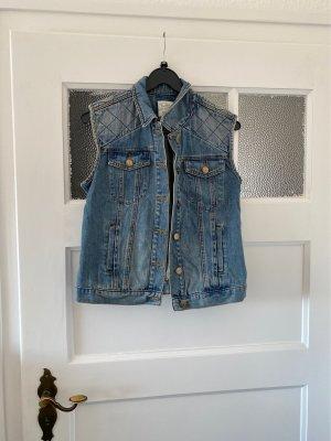 Clockhouse Gilet en jean bleu azur