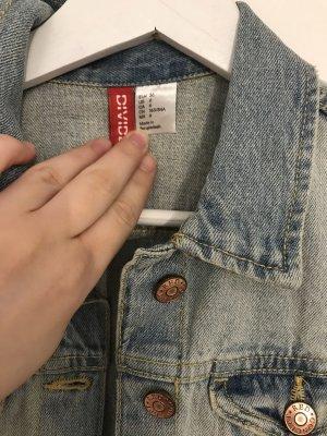 H&M Smanicato jeans multicolore
