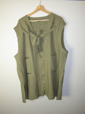 Eichblatt Long Knitted Vest green