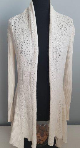 0039 Italy Gilet tricoté blanc cassé