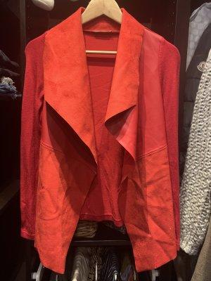 Orsay Long Knitted Vest carmine