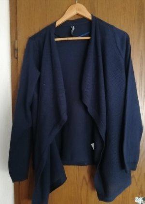 Jeans Pascale Gebreid vest donkerblauw