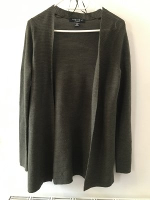 Amisu Knitted Vest green grey-khaki