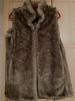 Esprit Fake Fur Vest light brown-brown