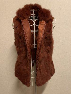 Lodenfrey Smanicato di pelliccia marrone