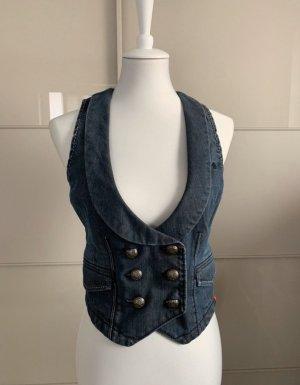 Esprit Smanicato jeans blu-azzurro