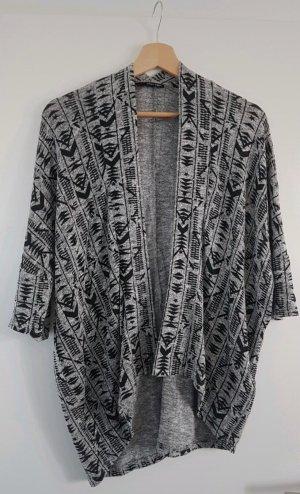 Tally Weijl Gilet tricoté noir-gris