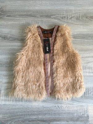 Weste faux-fur