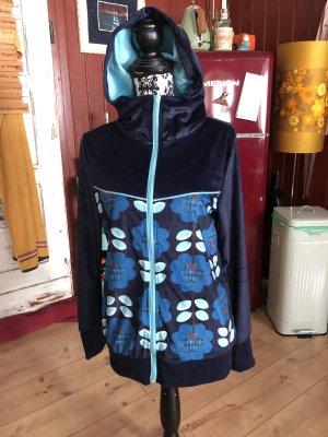 Fleece vest blauw
