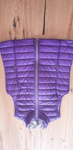 Bonita Gilet matelassé violet