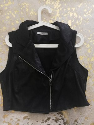 Please Biker Vest black