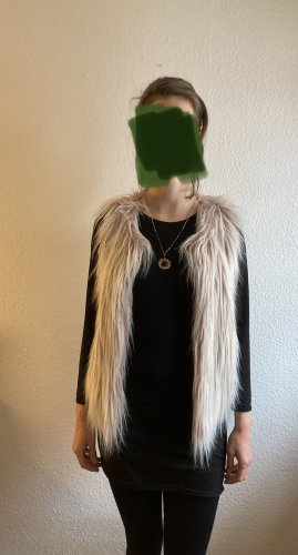 Amisu Smanicato di pelliccia multicolore