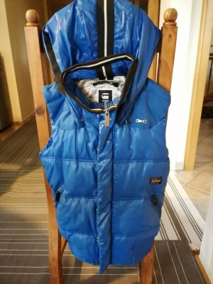 G-Star Raw Quilted Gilet blue