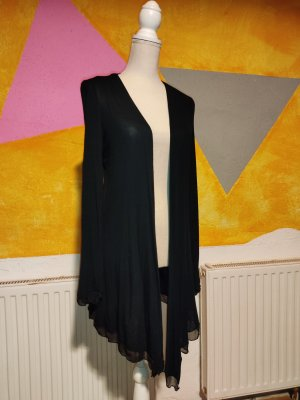 Comma Long Knitted Vest black