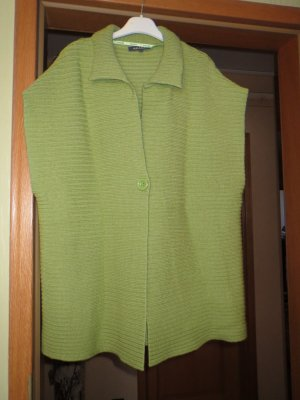 Adagio Long Knitted Vest grass green