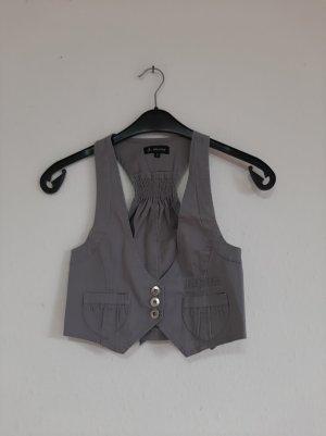 Attentif Waistcoat light grey-grey