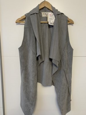 Review Fake Fur Vest multicolored