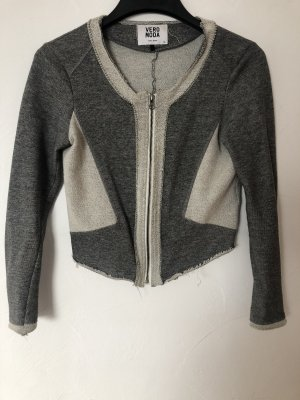 Vero Moda Quilted Gilet grey-silver-colored