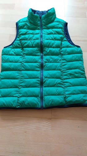 & other stories Reversible Vest blue-green