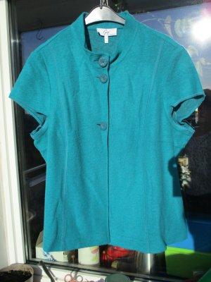 gigi Gilet polaire turquoise