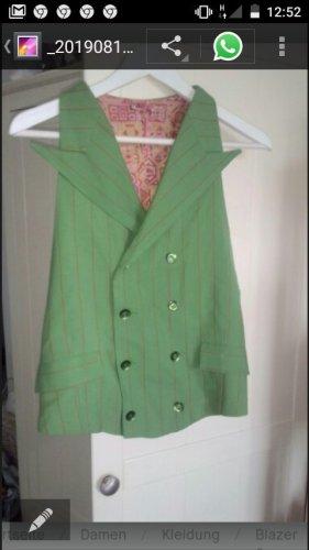 Omkeerbaar vest neon groen-groen